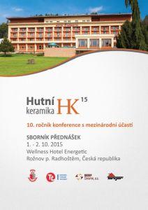 Conference Proceedings                     - HUTNÍ KERAMIKA 2015