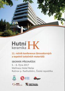 Conference Proceedings                     - HUTNÍ KERAMIKA 2017