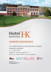Conference Proceedings                     - HUTNÍ KERAMIKA 2019