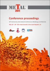 Conference Proceedings                     - METAL 2011