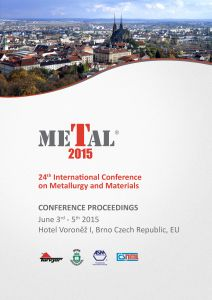 Conference Proceedings                     - METAL 2015