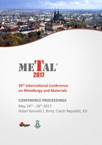 Conference Proceedings                     - METAL 2017