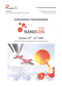 Conference Proceedings                     - NANOCON 2009